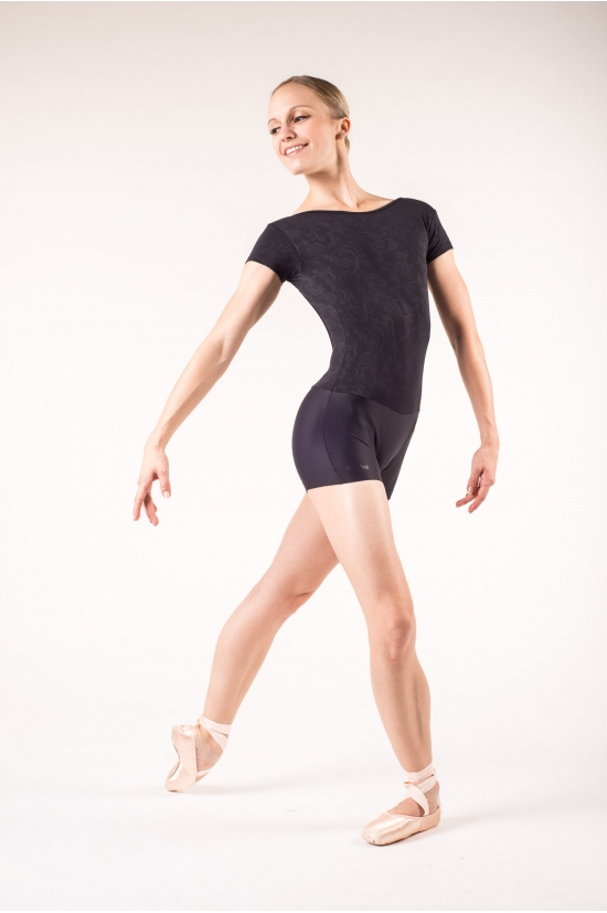 combishort danse wear moi cassiope noir noir mademoiselle danse. Black Bedroom Furniture Sets. Home Design Ideas