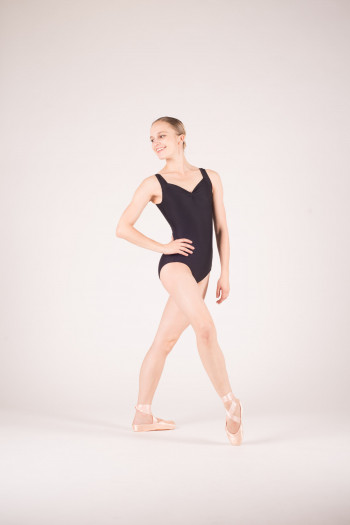 Wear Moi Faustine black leotard