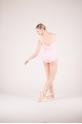 Wear Moi Faustine pink leotard