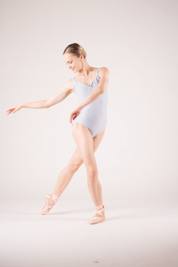 Wear Moi Faustine light grey leotard