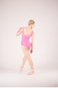 Wear Moi Faustine rose leotard