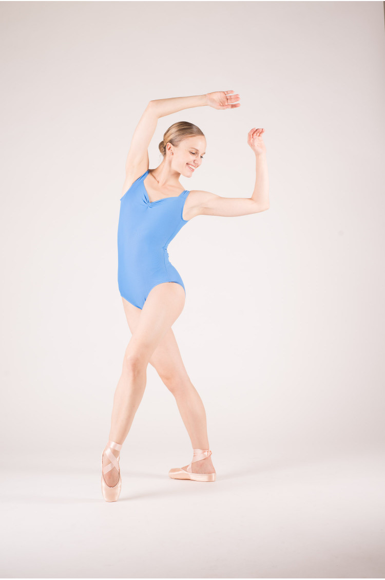 Wear Moi Faustine french blue leotard