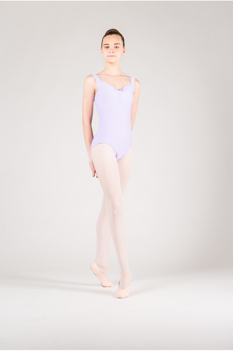 Wear Moi Faustine children lilac leotard