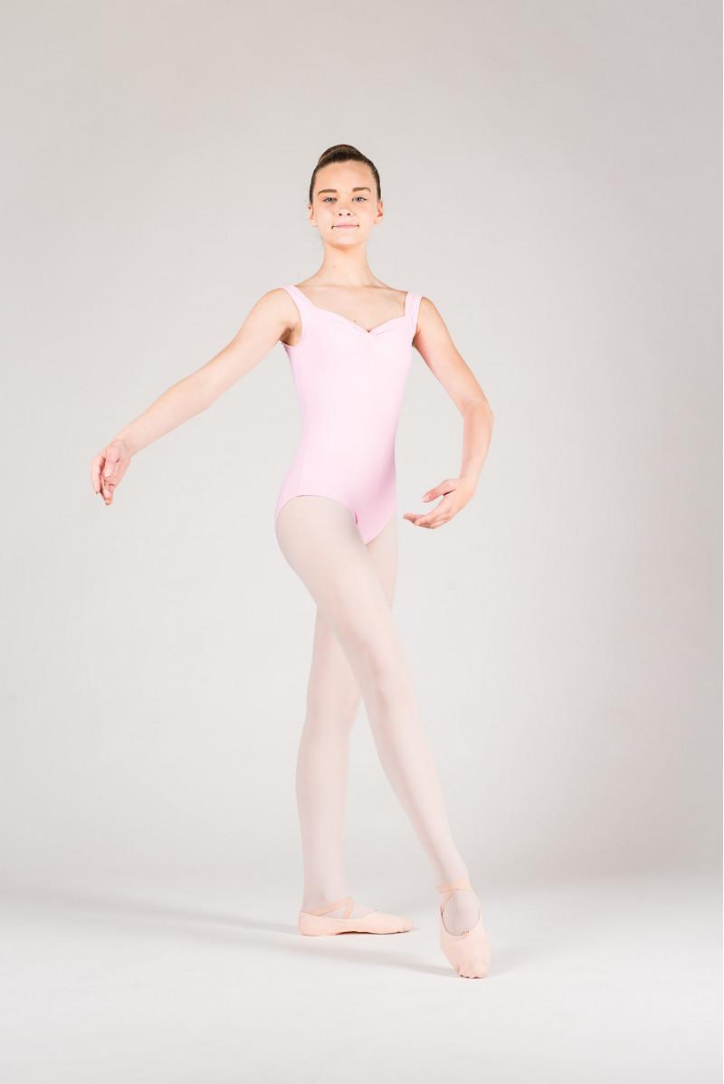 Wear Moi Faustine children pink leotard