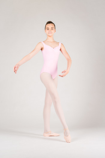 Wear Moi Faustine children pink leotard