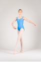 Wear Moi Faustine children french blue leotard