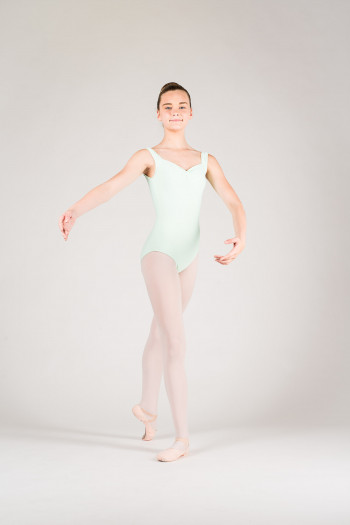 Wear Moi Faustine children mint leotard