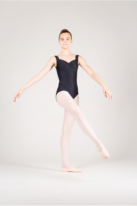 Wear Moi Faustine children black leotard