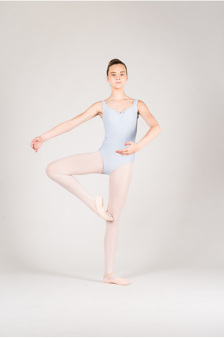 Wear Moi Faustine children light grey leotard