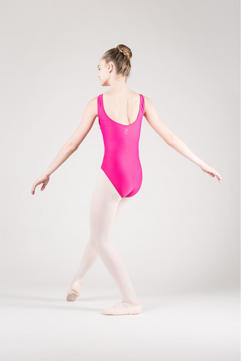 Wear Moi Faustine children fushia leotard