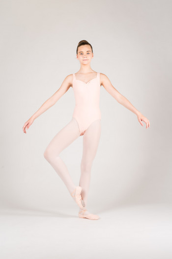 Wear Moi Faustine children peach leotard