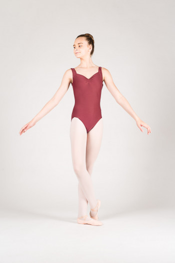Wear Moi Faustine children maroon leotard