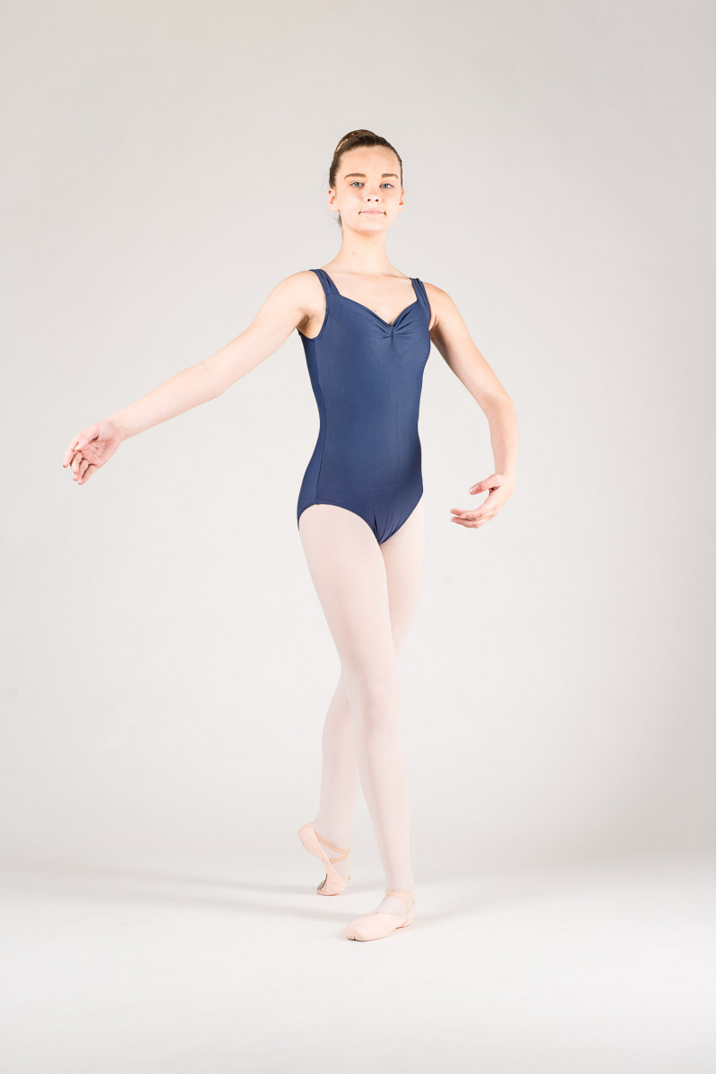 Wear Moi Faustine children navy leotard