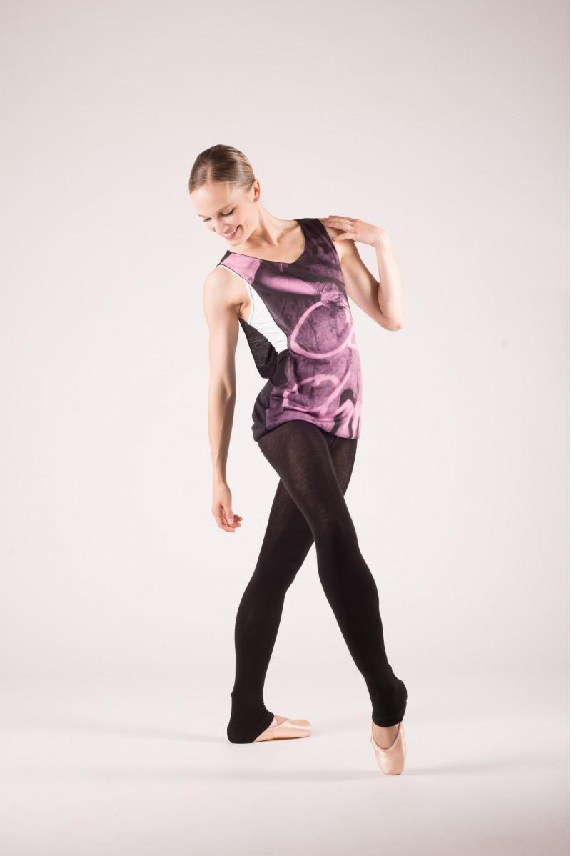 Debardeur danse violet
