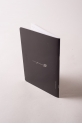 A5 Forever B notebook black and white