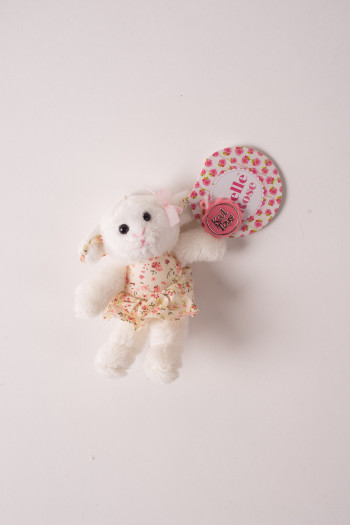 Sheep ballerina key ring