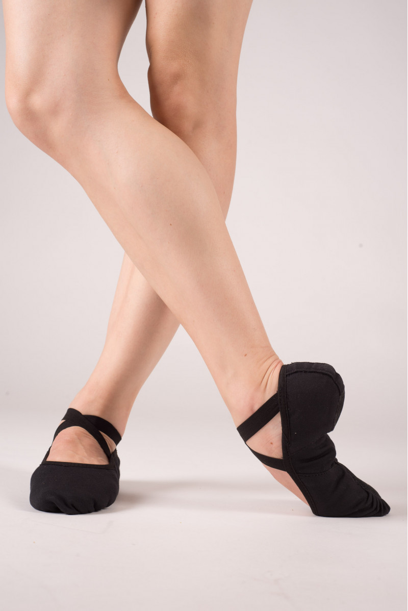 Merlet Stella Stretch soft black shoes