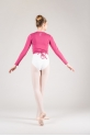 Wear Moi Carmen amaranth wrap over top for child
