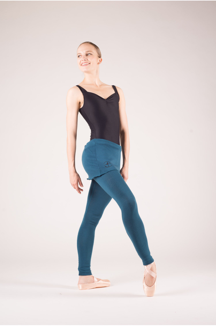 Legging danse femme wear moi bleu