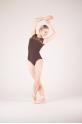 Ballet Rosa maroon lace leotard