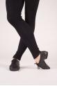 Dansez-vous leather black jazz shoes