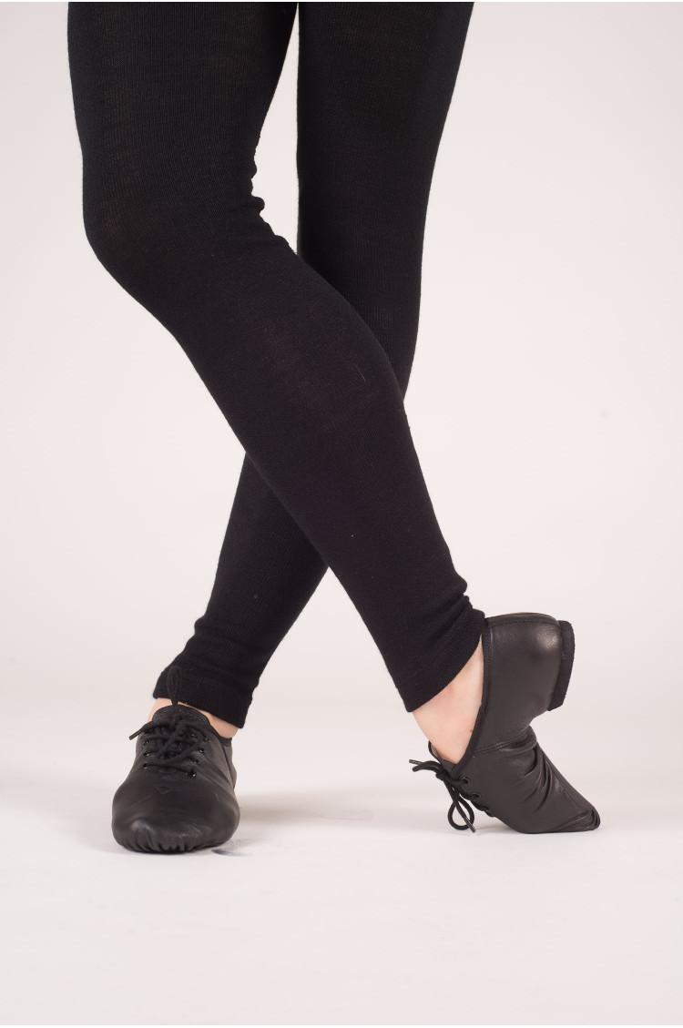 Chaussures de jazz à lacets Dttrol noir