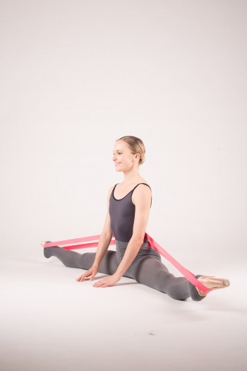 Bande elastique etirement danse