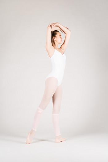 Guetres danse fille rose fleur