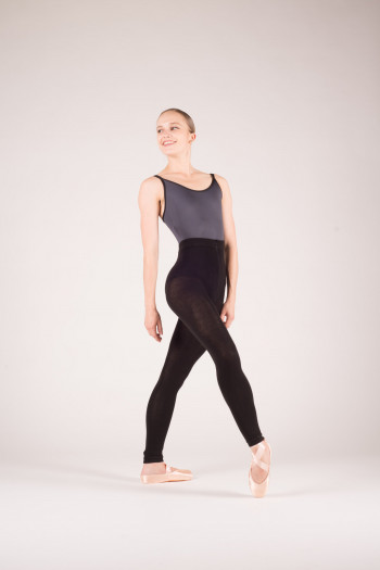 Gaynor Minden black warm up tights