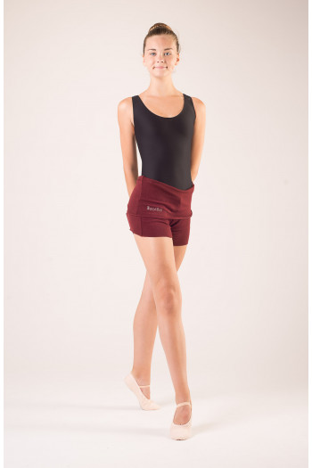 Short Wear Moi Tiara maroon enfant