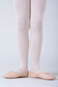 Demi pointe danse Bloch cuir rose