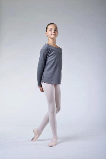 t shirt danse ballet rosa enfant