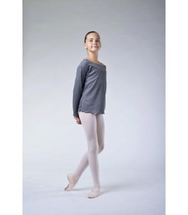 Ballet Rosa Ruby grey warm-up T-shirt