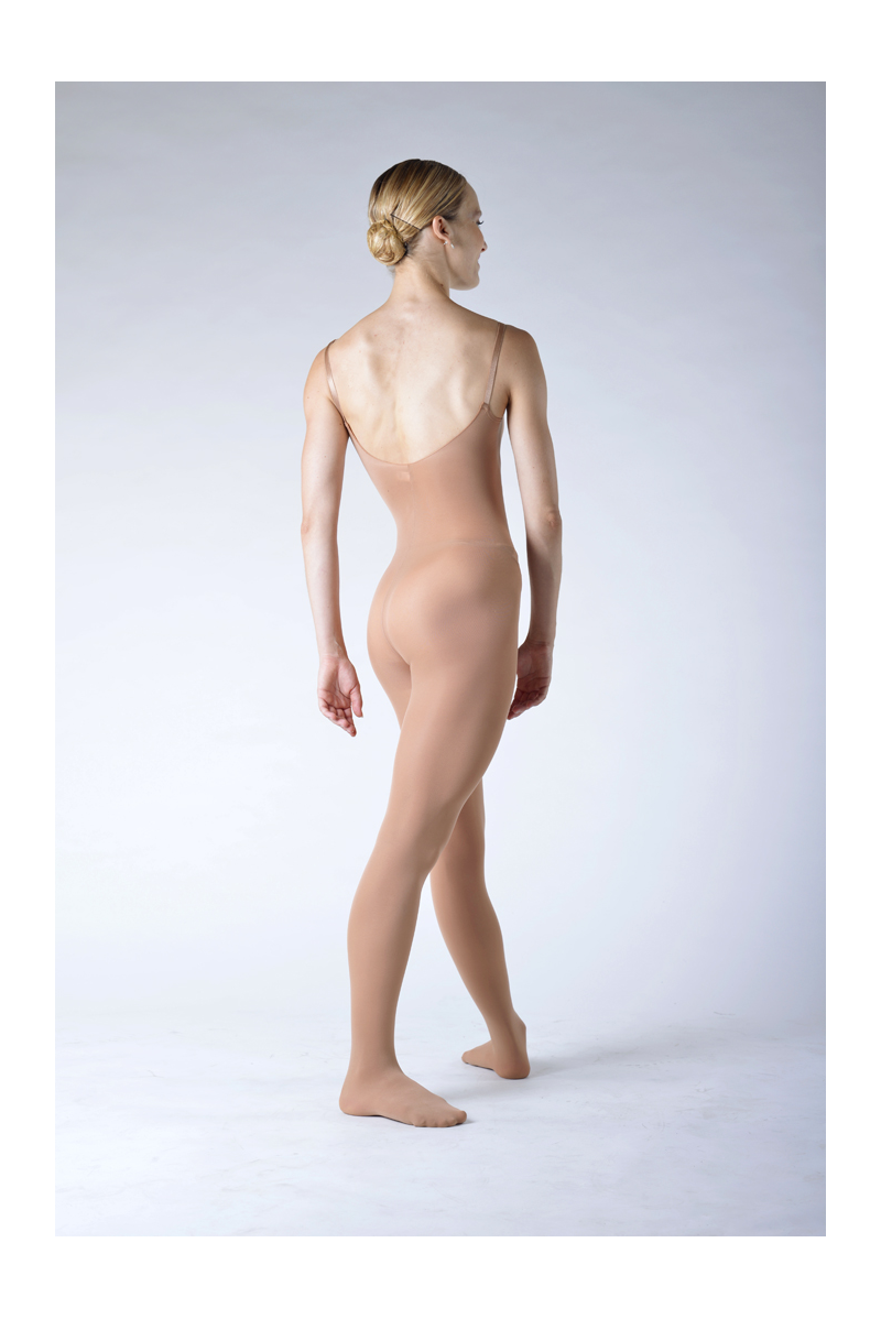 Capezio flesh full body dance tight