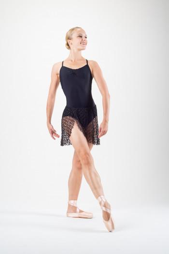 Camisole Jacquard Dress Capezio black