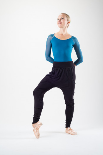 Pantalon danse femme bloch noir