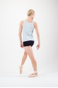 Repetto ribbed grey tank top