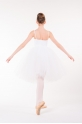 Bas de tutu long Repetto enfant blanc DE534