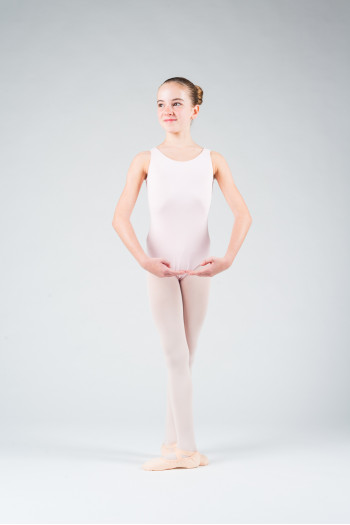 Capezio CC201C pink child leotard