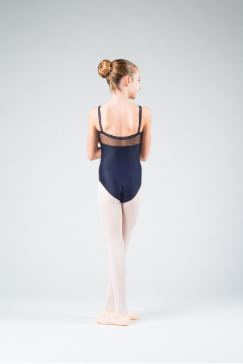 Wear Moi Flora Black leotard