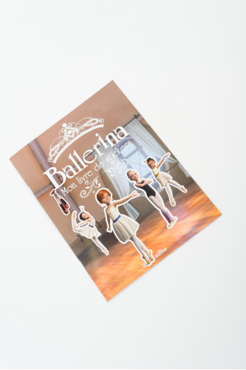 Cahier à stickers ballerina