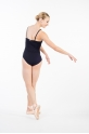 Temps Danse Mana black leotard