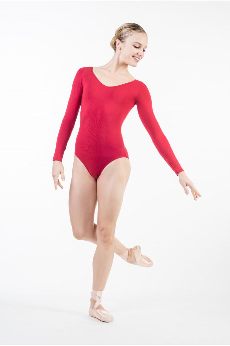 Temps Danse Marina rubis leotard
