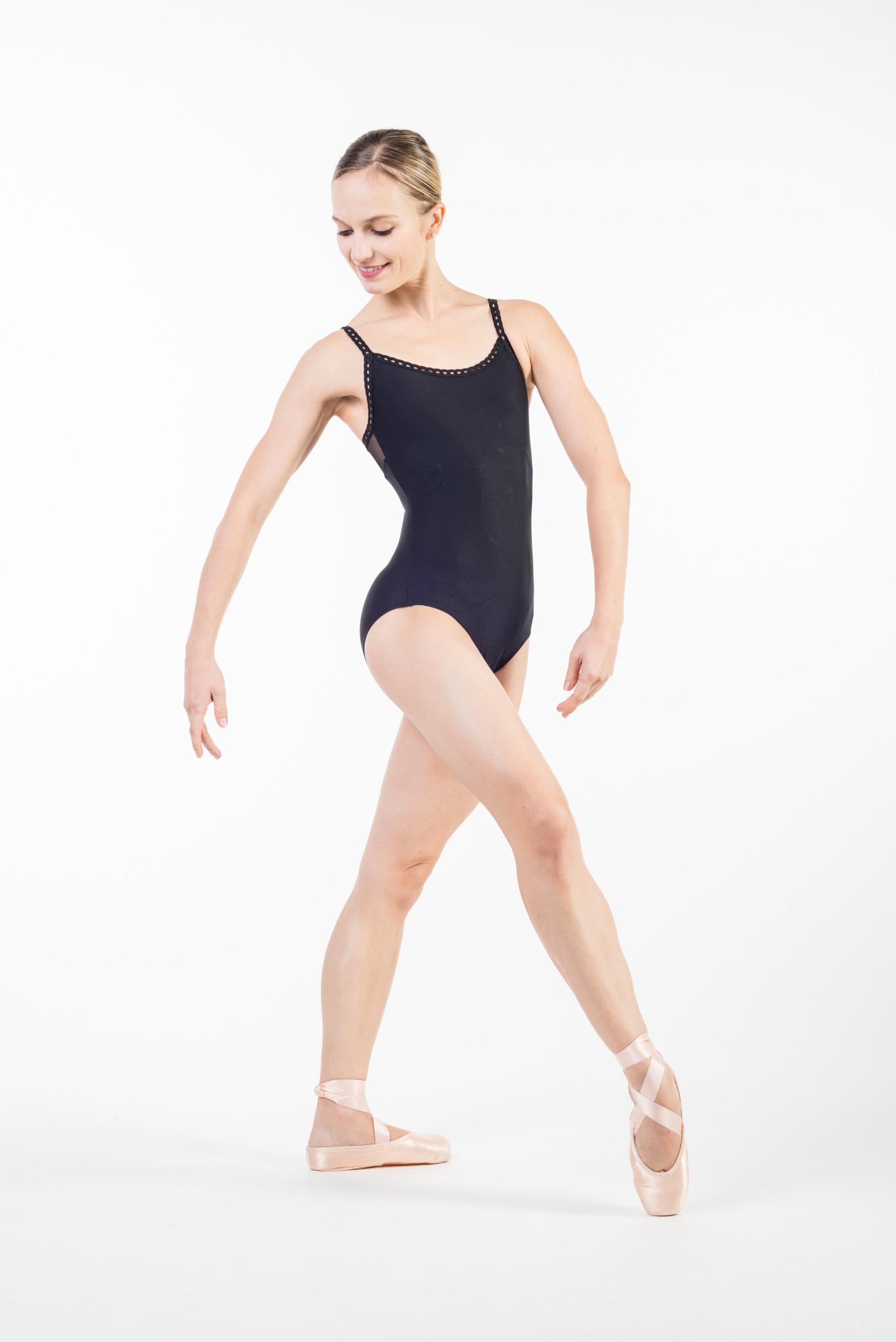 Justaucorps danse fines bretelles femme - Mademoiselle danse 3a79e66716b