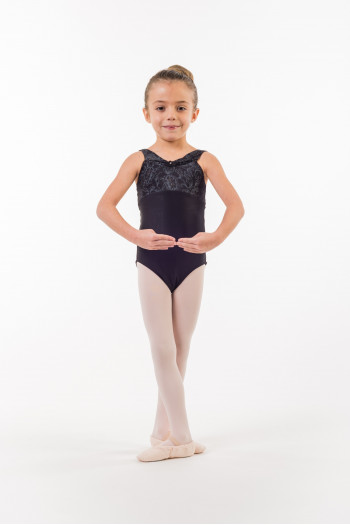 Wear Moi Diademe black leotard