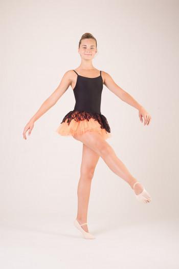 Mini tutu dentelle costume de danse