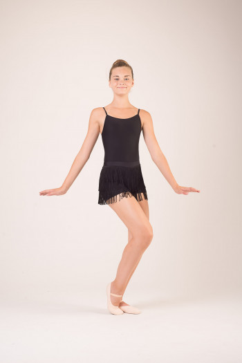 short à franges costume de danse