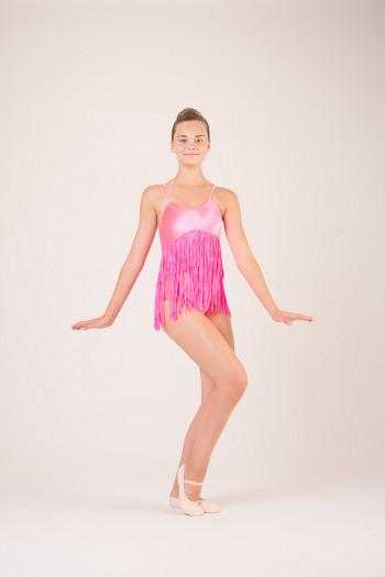 Robe à frange costume de danse classique