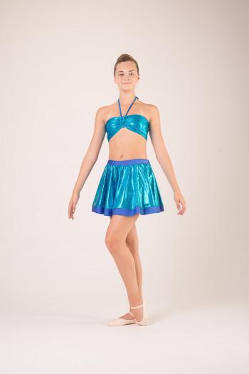 Haut brassiere costume de danse personnalisable