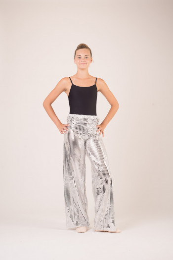 Pantalon costume de danse sequin